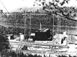 Photo of First full-scale atomic electric power plant