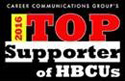 Top Supporters of HBCUs Logo