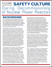 Photo of Cover of the Safety Culture: During Decommissioning of Nuclear Power Reactors