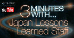 3 Minutes With...Japan Lessons Learned Staff