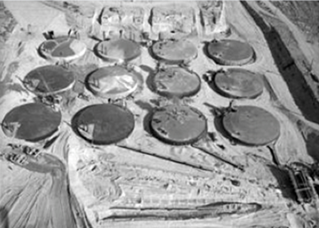 Photograph of the Hanford Site near Richland, WA
