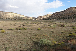 Photograph of the Crownpoint Uranium Recovery Site in Crownpoint, New Mexico