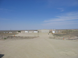 Photograph of the Sweetwater Uranium Recovery Site in Sweetwater County, Wyoming