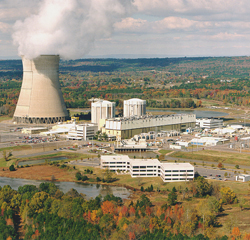 Photograph of Vermont Yankee nuclear power station