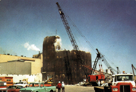 Demolition of a Reactor 